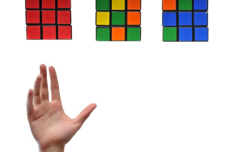 Træn din hjerne med en rubiks cube